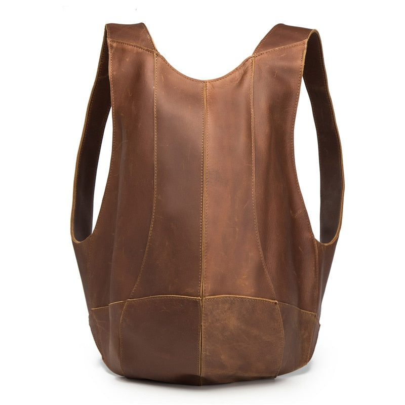 """Leonardo"" Genuine Leather Backpack - ENE TRENDS"