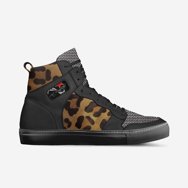 Cheeta Pantha Limited Edition Custom Retro Basketball Sneakers - ENE TRENDS