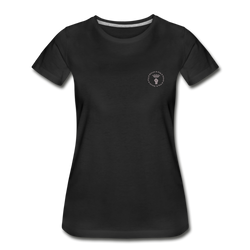 Women's Premium Organic T-Shirt - black