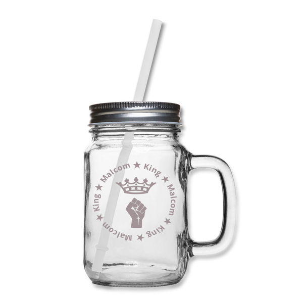 MALCOM KING Mason Jar - clear