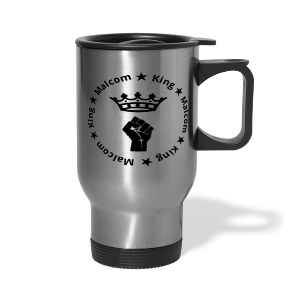 MALCOM KING Travel Mug - silver