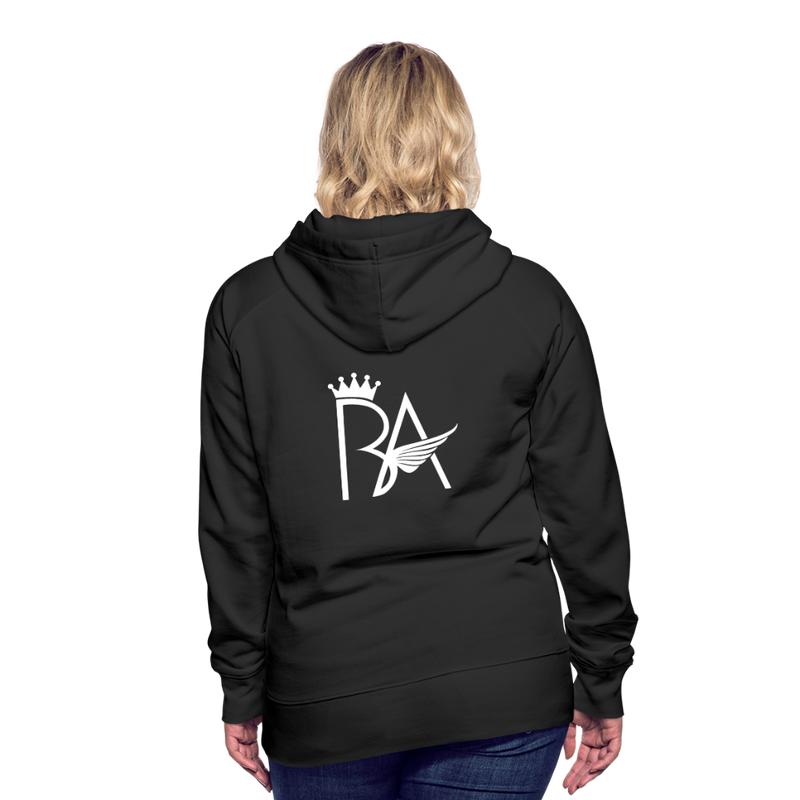 Brian Angel BBW Womens Premium Hoodie - black