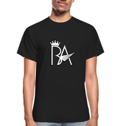Brian Angel BA Logo Ultra Cotton Adult T-Shirt - black