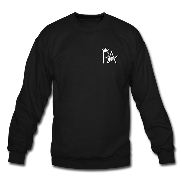 Brian Angel BA Logo Crewneck Sweatshirt - black