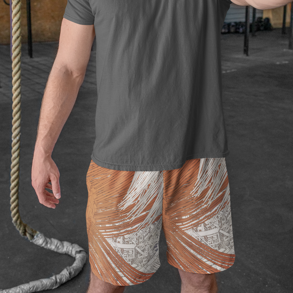 NETWORK Printed Board Shorts
