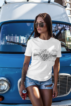 Sacred Geometry Casual Unisex Classic T-Shirt
