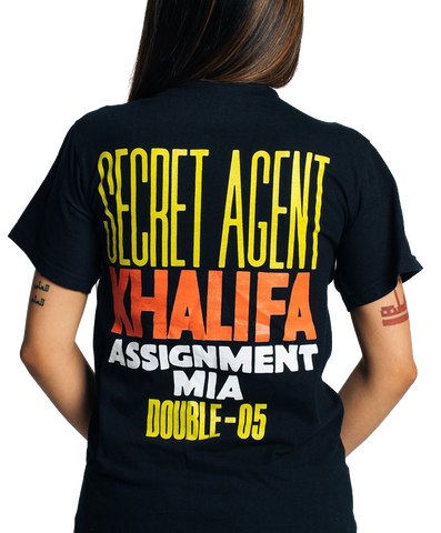005 Secret Agent Khalifa Tee