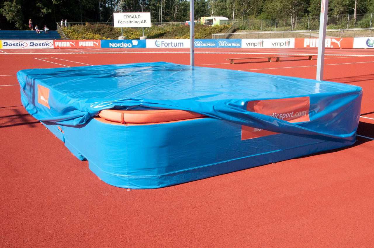 Weather Cover for World Cup Double Pole Vault Pit
