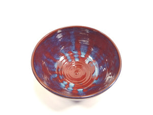 Red, blue and true bowl