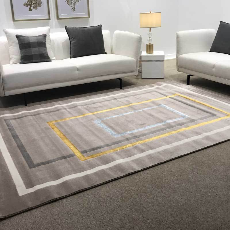 Acapulco Luxury Floor Rug Square Design