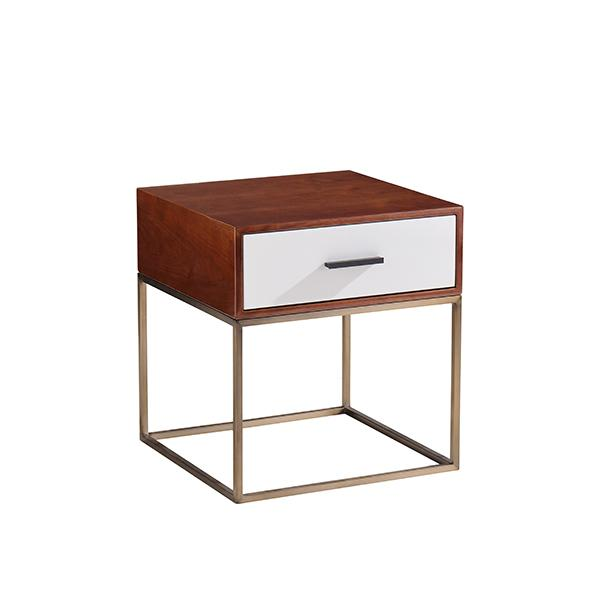 Como One Drawer Bedside Table