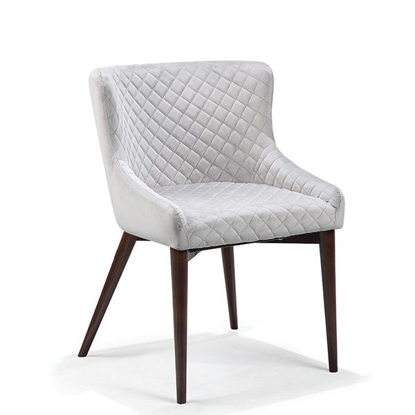 Abbey Luxury Upholstered Velvet Dining Chair