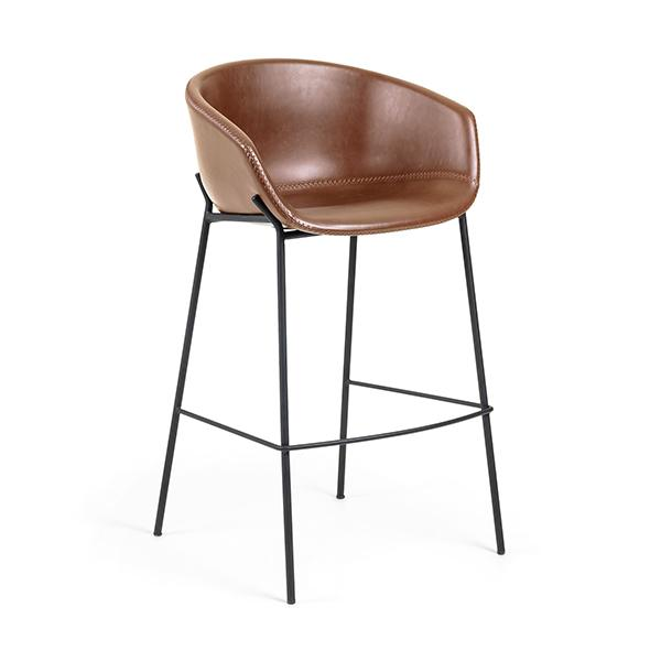 Arizona Saddle Synthetic Leather Bar Stool