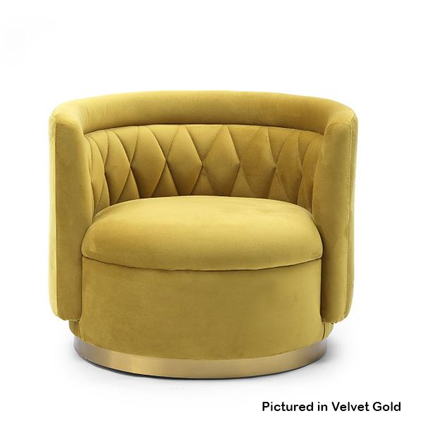 Aston Swivel Occasional Chair