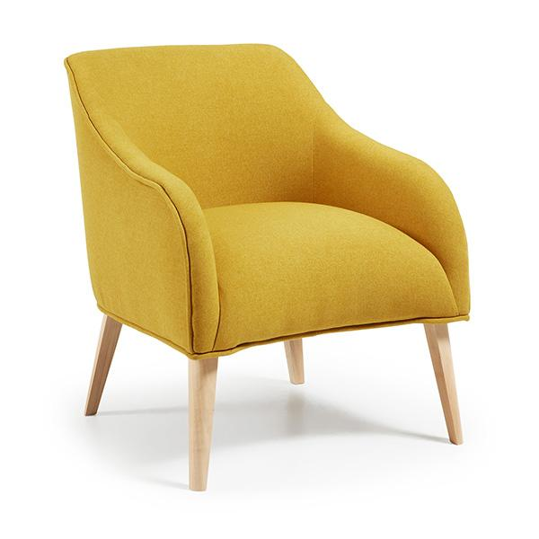 Lyon Occasional Chair - Mustard Yellow