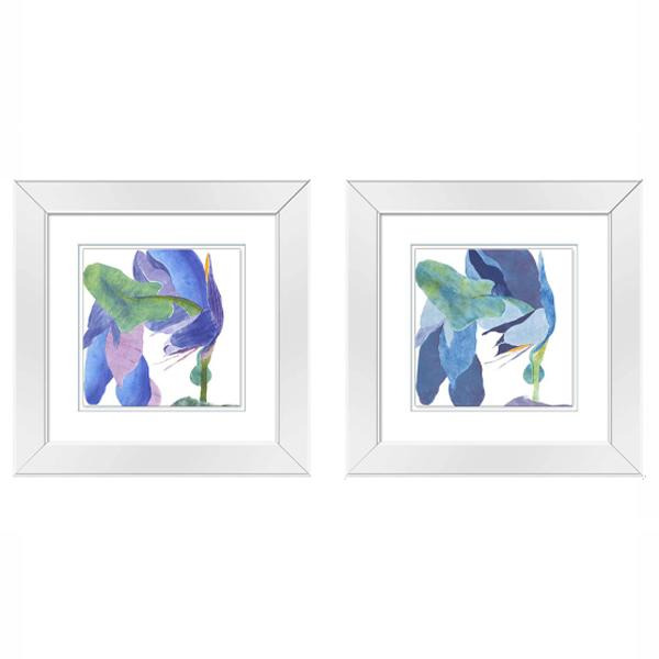 Mirror Frame Pastel Watercolour art set 1