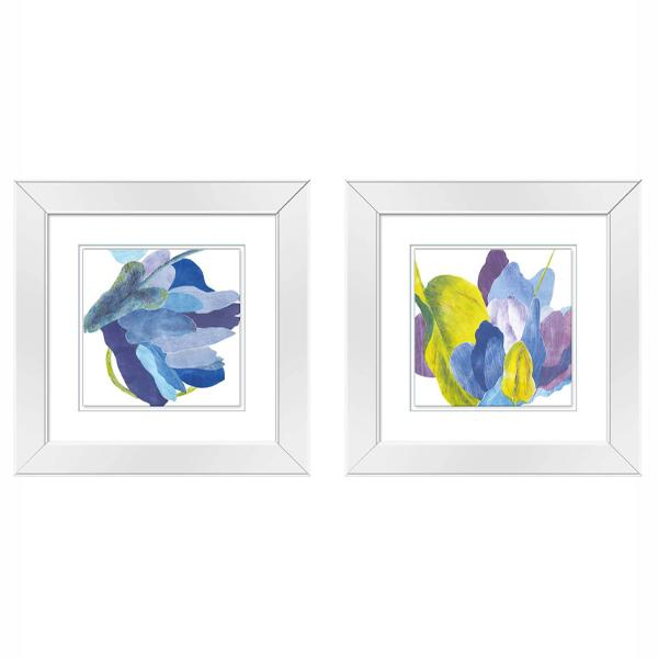 Mirror Frame Pastel Watercolour art set 3