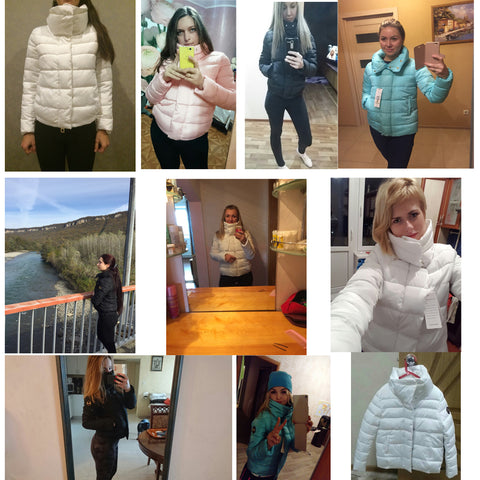 New Autumn Winter jacket Women Coat Fashion  Female Down jacket Women Parkas Casual Jackets Parka Wadded