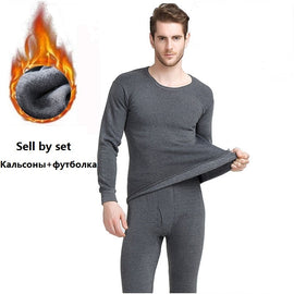 Men thermal underwear sets