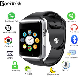 Men Women Sport Fashion Bluetooth Smart Watch Sync Notifier Support Connectivity Camera Smartwatch For Android