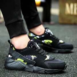 Running Shoes for Men Black White Sports Shoes Men Sneakers