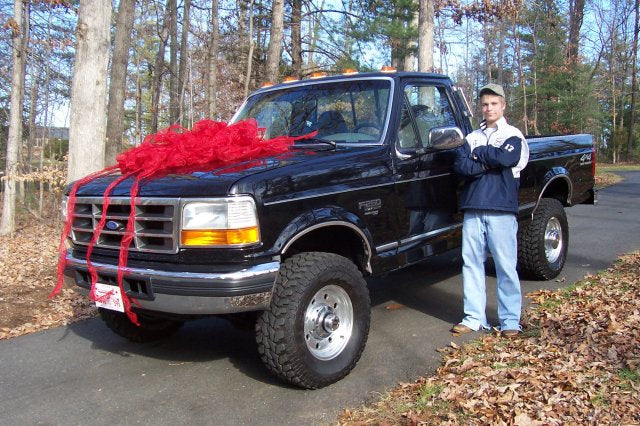 Logan Receives His First Vehicle Ever on Christmas Day!