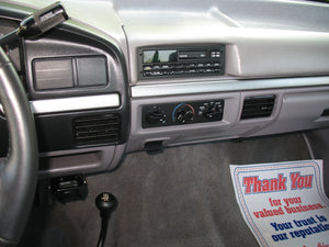1995 Ford F250 Regular Cab Long Bed Diesel Truck Grey Interior Dash