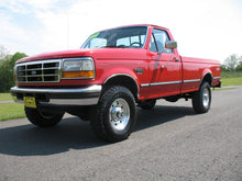 Load image into Gallery viewer, 1995 Ford F250 Regular Cab Long Bed Diesel Truck Red Front Driver Side