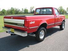 Load image into Gallery viewer, 1995 Ford F250 Regular Cab Long Bed Diesel Truck Red Rear Passenger Side