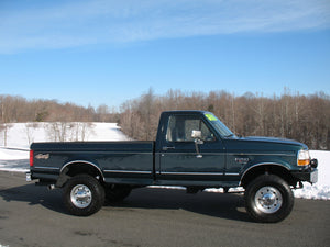 1995 Ford F250 Regular Cab (Straight Axle) Diesel Truck Passenger Side