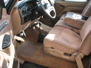 1995 Ford F250 Regular Cab (Straight Axle) Diesel Truck Tan Interior
