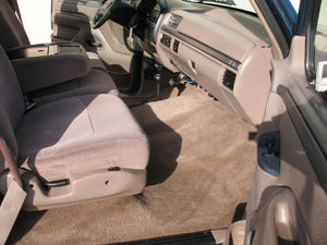 1995 Ford F250 Regular Cab (Straight Axle) Diesel Truck Tan Interior Passenger Seat