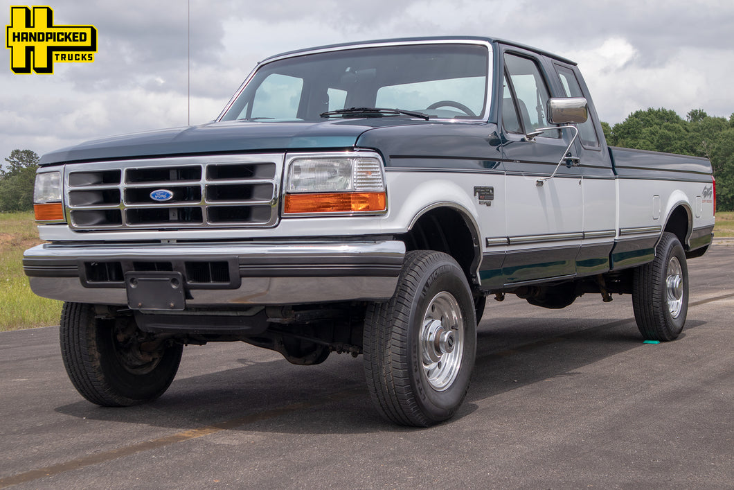SOLD 1996 Ford F250 Extended Cab Long Bed Diesel Truck