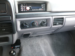 1997 Ford F250 Crew Cab Short Bed Diesel Truck Grey Interior Dash
