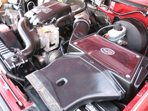 1997 Ford F250 Crew Cab Short Bed Diesel Truck Engine Bay S&B Intake