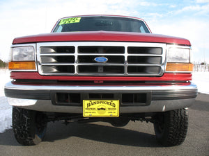 1997 Ford F250 Crew Cab Short Bed Diesel Truck Toreador Red Front