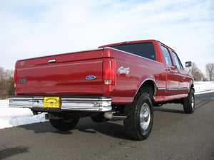 1997 Ford F250 Crew Cab Short Bed Diesel Truck Toreador Red Right Rear Corner