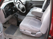 Load image into Gallery viewer, 1997 Ford F250 Crew Cab Short Bed Diesel Truck Grey Interior Driver Seat