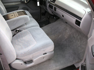 1997 Ford F250 Crew Cab Short Bed Diesel Truck Grey Interior Passenger Seat