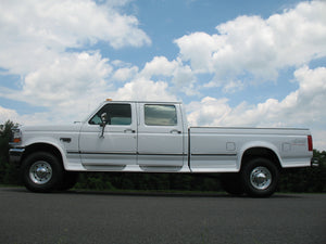 SOLD 1997 Ford F350 Crew Cab Long Bed Diesel Pickup