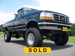 SOLD 1997 Ford F350 Regular Cab Long Bed Diesel Truck