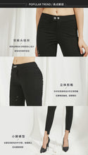Load image into Gallery viewer, Slimfit Ripped 个性破洞显瘦裤