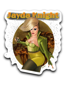 Jayda Knight Sticker