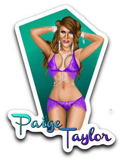 Paige Taylor - Sticker