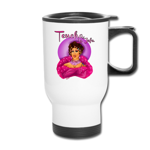 Tencha La Jefa - Travel Mug - white
