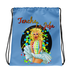 Tencha La Jefa - Twister Drawstring bag