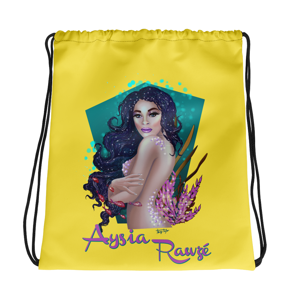 Aysia Rawze - Drawstring Bag