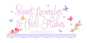 Sweet Lavender & Chili Flakes