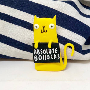 ABSOLUTE BOLLOCKS - Honest Rainbow Cats Collection
