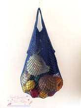 Load image into Gallery viewer, Cotton Net Shopping Bag short handles (NOT handmade)